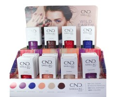 CND Shellac 2018 Wild Earth Collection