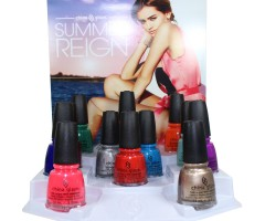 China Glaze 2017 Summer Reign Collection