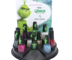 China Glaze 2018 Halloween The Grinch Collection
