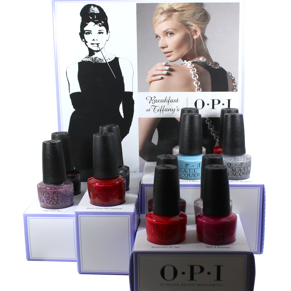 OPI 2016 Breakfast At Tiffanys Holiday Collection