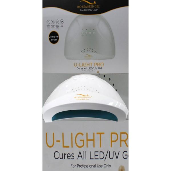 Bio Seaweed Gel, U Light Pro Lamp - Cures All LED/UV Gel By Bio ...