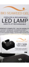 24W Cordless LED Lamp By Bio Seaweed Gel