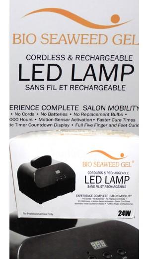10-2394 24W Cordless LED Lamp By Bio Seaweed Gel