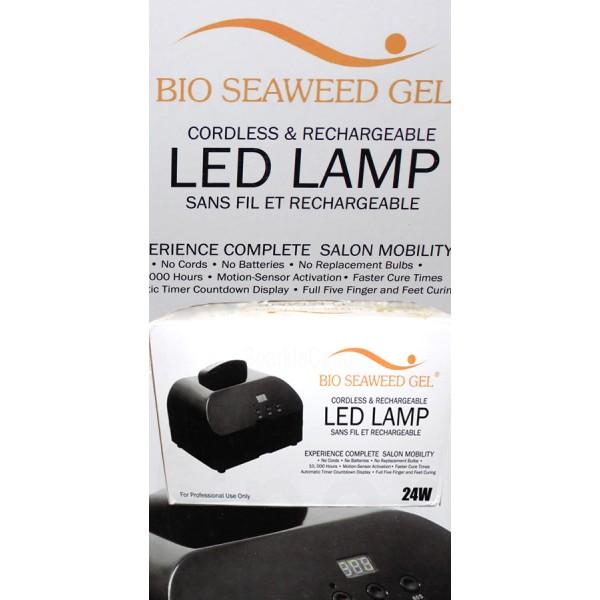 Bio Seaweed Gel, 24W Cordless LED Lamp By Bio Seaweed Gel, 10-2394 ...