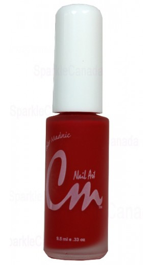 NA03 Orange Red By CM Nail Art