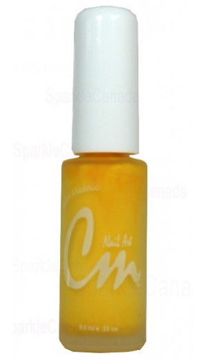 NAS02 Sonic Yellow CM Nail Art