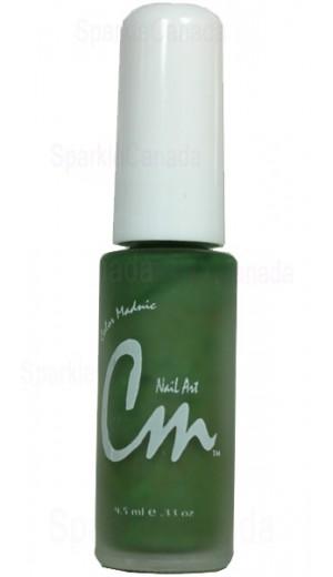 NA15 Green By CM Nail Art
