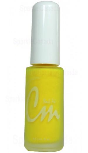 NA17 Hot Yellow By CM Nail Art