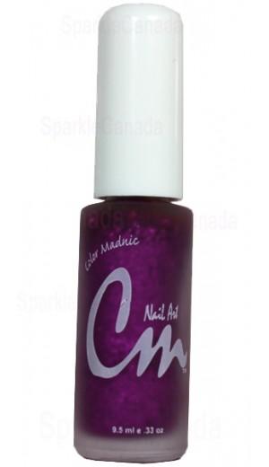 NA18 Fuchsia Glitter By CM Nail Art