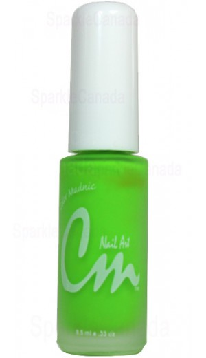 NAS01 Electric Green By CM Nail Art