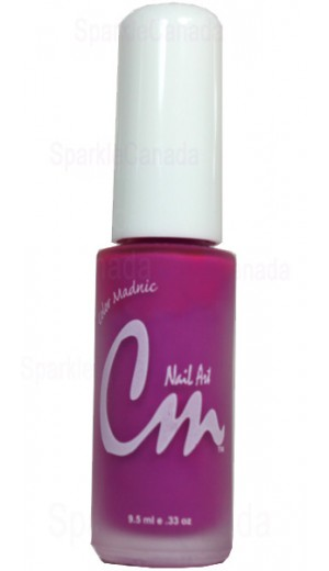 NAS03 Pink Shock By CM Nail Art