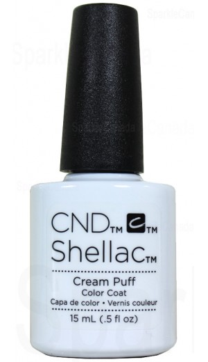 12-2831 15ml Cream Puff - Double Size - Limited Edition By CND Shellac