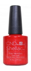 15ml Fine Vermillion - Double Size - Limited Edition By CND Shellac