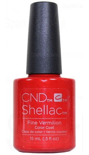 12-2834 15ml Fine Vermillion - Double Size - Limited Edition By CND Shellac