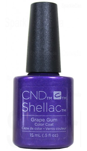 12-2836 15ml Grape Gum - Double Size - Limited Edition By CND Shellac