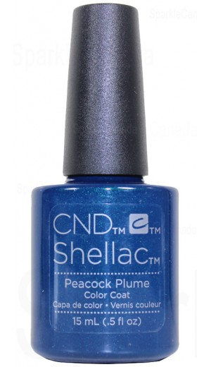12-2838 15ml Peacock Plume - Double Size - Limited Edition By CND Shellac