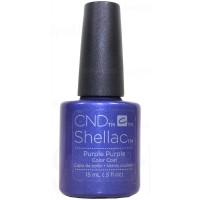 15ml Purple Purple - Double Size - Limited Edition By CND Shellac