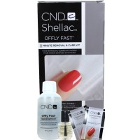 Offly Fast - 8 Minute Removal & Care Kit By CND Shellac