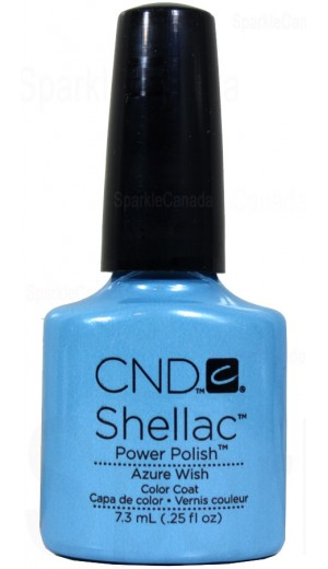 12-2025 Azure Wish By CND Shellac