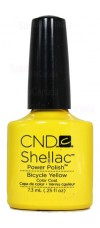 Bicycle Yellow By CND Shellac