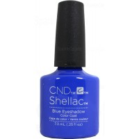 Blue Eyeshadow By CND Shellac