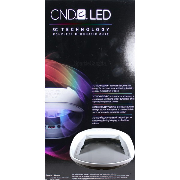Cnd Shellac Led 3c Technology Lamp By Cnd Shellac 12 1746 Sparkle Canada One Nail Polish Place