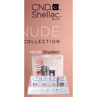 CND Shellac 2018 Nude Collection