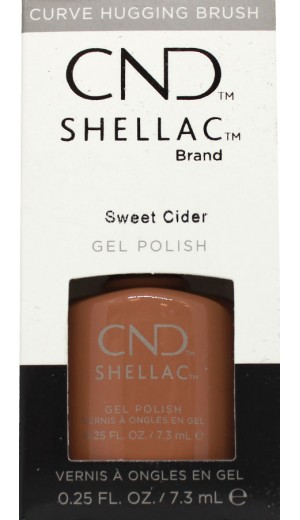 12-3572 Sweet Cider By CND Shellac