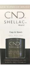 Cap and Gown By CND Shellac
