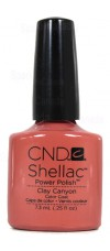 Clay Canyon By CND Shellac