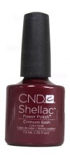 Crimson Sash By CND Shellac