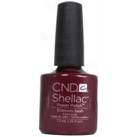 Crimson Sash By CND Shellac