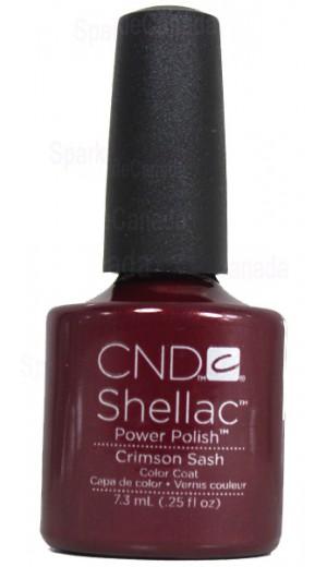 12-405 Crimson Sash By CND Shellac
