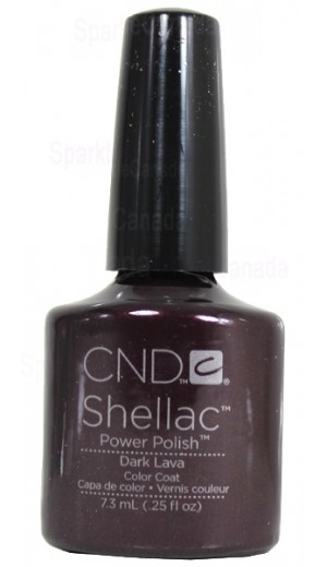 12-411 Dark Lava By CND Shellac