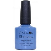 Denim Patch By CND Shellac