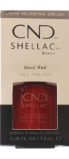 Devil Red By CND Shellac