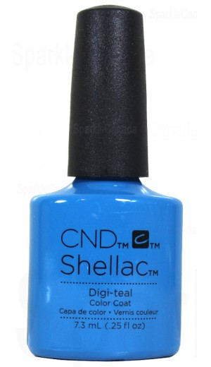 12-1856 Digi-teal By CND Shellac