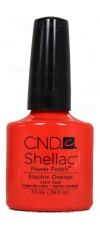 Electric Orange By CND Shellac
