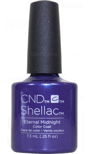 12-2843 Eternal Midnight By CND Shellac
