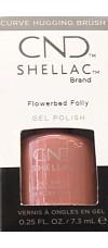 Flowerbed Folly By CND Shellac