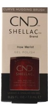 How Merlot By CND Shellac