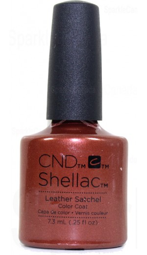12-2571 Leather Satchel By CND Shellac