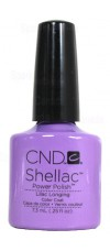 Lilac Longing By CND Shellac