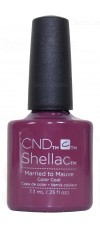 Married To Mauve By CND Shellac