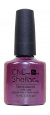 Patina Buckle By CND Shellac