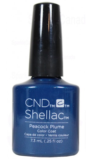 12-1439 Peacock Plume By CND Shellac