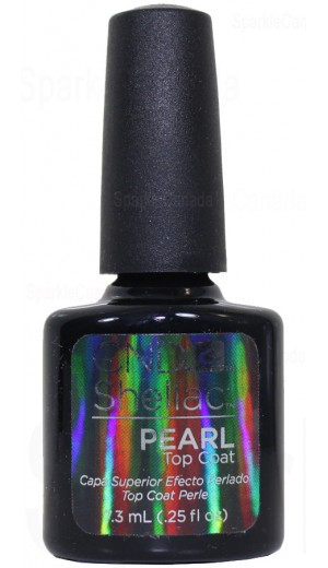 12-3027 Pearl Top Coat By CND Shellac