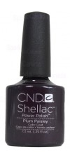 Plum Paisley By CND Shellac
