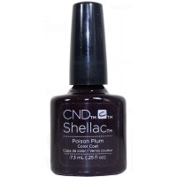 Poison Plum By CND Shellac
