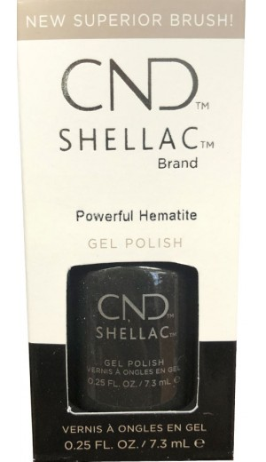 12-3371 Powerful Hematile By CND Shellac